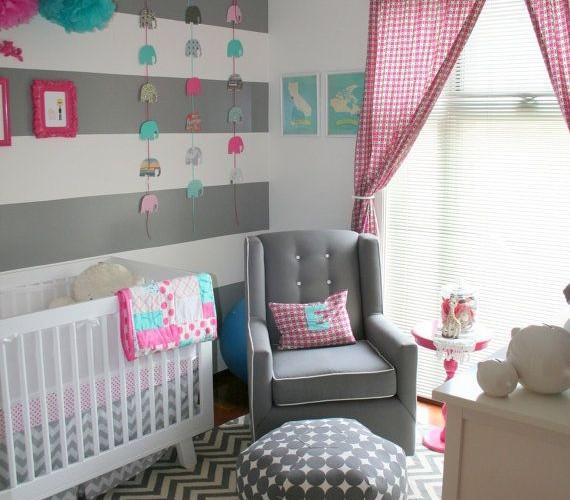 Les plus belles d corations de chambre de b b en tribu for Chambre de bebe mixte