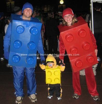 DIY Déguisement Famille Lego