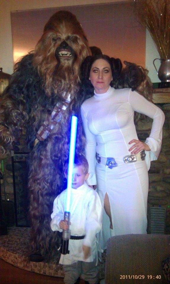 Déguisement famille star wars
