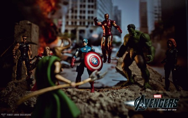 Noël 2014: figurines The Avengers