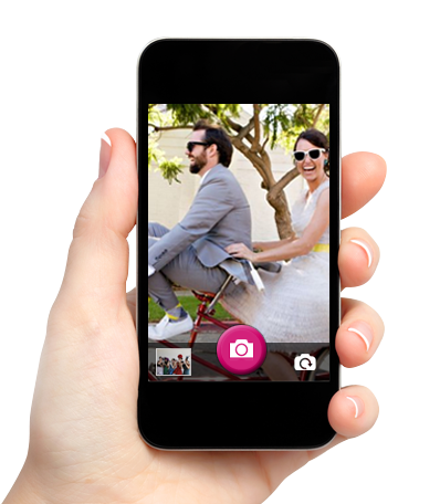 mariage smartphone