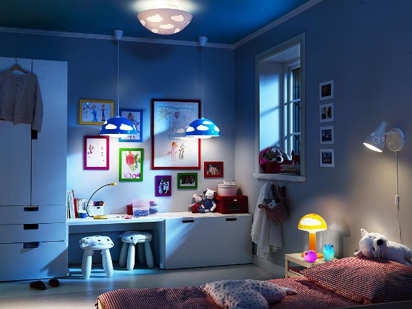 Eclairage pour une chambre d\'enfant : choisir le plafonnier LED En ...