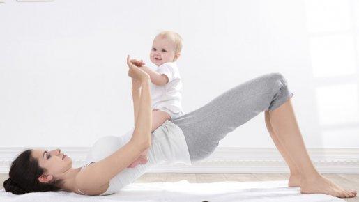 retrouver la ligne après la grossesse